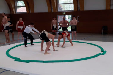 Sumo Trainingslager Brandenburg
