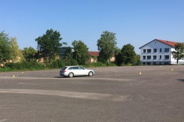 Fahrsicherheitstraining mit Verkehrswacht Main-Tauber-Kreis