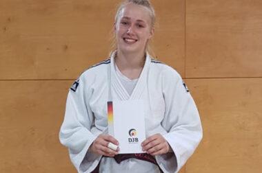 Mara Noorlander: 1. Dan-Prüfung (Schwarzgurt)